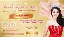 Ngày hội sắc đẹp tôn vinh vẻ đẹp Phụ nữ Việt